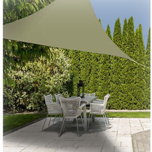 Tenda parasole a vela terrazzo giardino gazebo protezione uv waterproof 3.6x3.6m