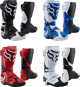 Image Is Loading 2018 Fox Racing 180 Boots Black White Red