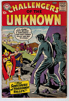 CHALLENGERS OF THE UNKNOWN #6 2.0 KIRBY AND WOOD ART CR/OW PAGES SILVER AGE