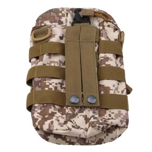 Outdoor Tactical  Water Bottle Pouch Military Camping Hiking Shoulder Bag