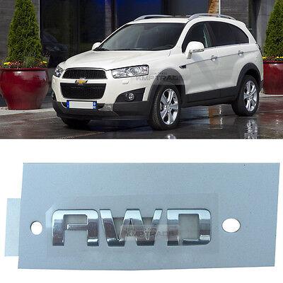 OEM Rear Trunk AWD Lettering Chrome Logo Emblem For CHEVROLET 2006-2016 Captiva
