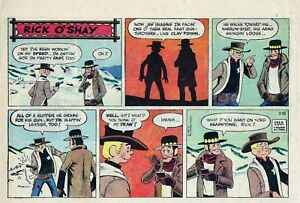 Rick-O-039-Shay-by-Stan-Lynde-half-tab-color-Sunday-comic-page-January-15-1961