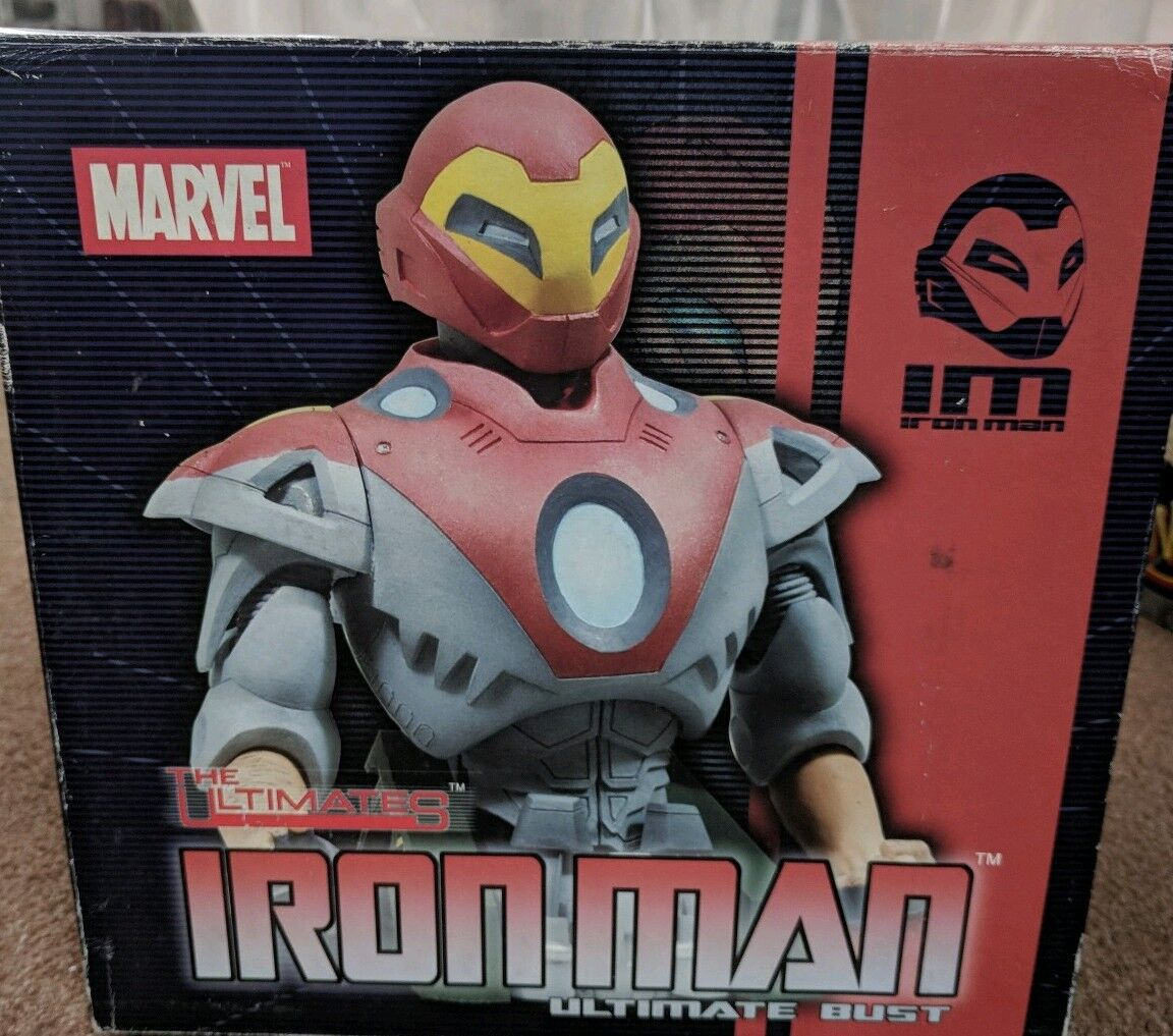 Marvel Ultimate Iron man / Tony Stark / Avengers statue 460/500 Limited