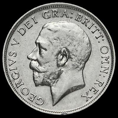 1913 George V Silver Shilling, VF #3
