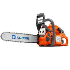 "New Husqvarna 435 E-Series 16"" Gas Powered X-Cut Low Emission Chainsaw 967650802"