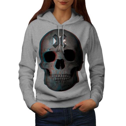 Wellcoda Die Rock Metal Goth Womens Hoodie Devil Casual Hooded Sweatshirt