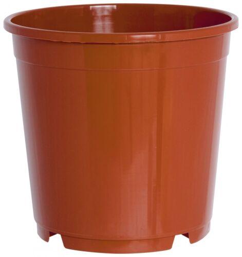 20er Set porta vasi contenitore pentola 12 cm circa in plastica austerity