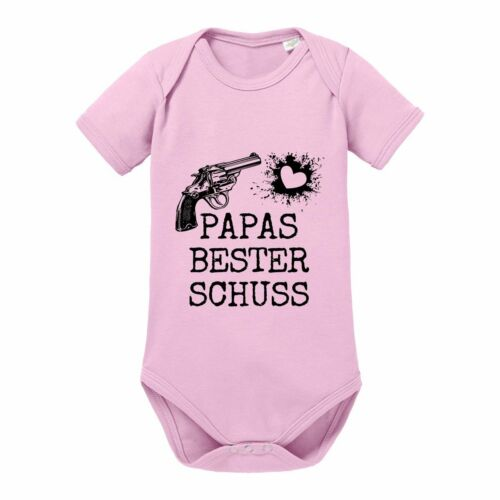 "Babybody Modell Kinder /""PAPAS BESTER SCHUSS/"" 100/% Baumwolle"