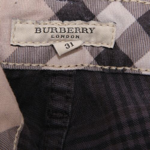 Pantalone Check Violet 2204w Burberry Brit Uomo Cotton Trouser Men Hp1Tq1fW