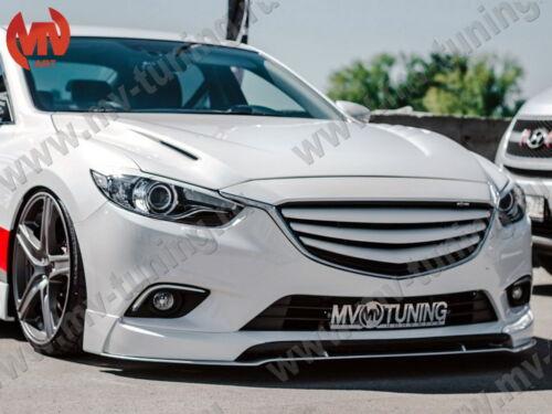 MV-Tuning Front Splitter №1 under Fangs SkyActiv Style for Mazda 6 Atenza GJ