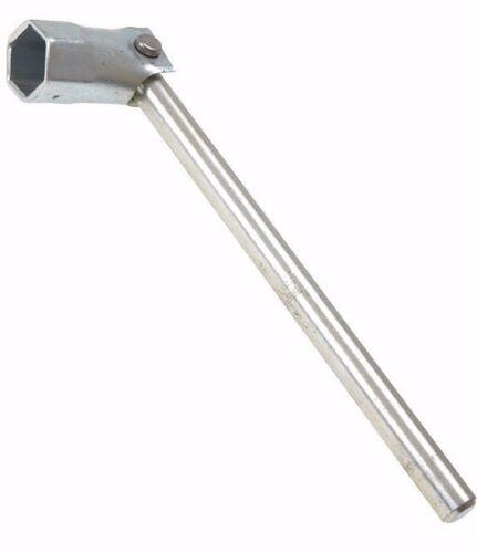 Hex Head 21mm PRIORY Chunky Round Handle Scaffold Spanner PRI310SE716 7//16W