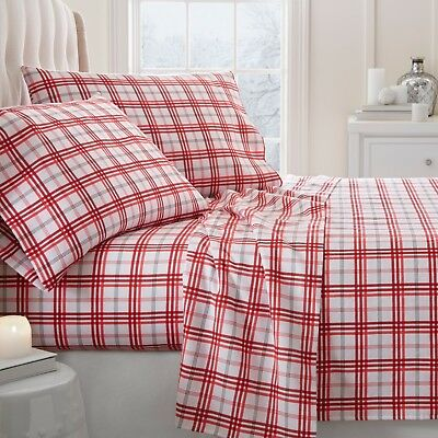 Linen Market Ultra Soft Patterned Flannel Bed Sheet Set - Seasonal Designs