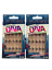 Indexbild 1 - (2) KISS BROADWAY GLUE ON NAILS FASHION DIVA PINK, SILVER BLACK DESIGN BGFD01
