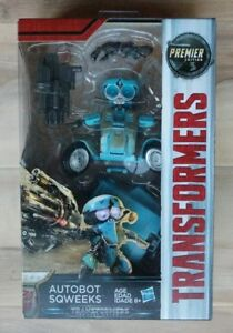 Transformers The Last Knight Premier Edition Deluxe Autobot Sqweeks Ages 8 Toy