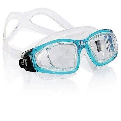 Occhialini Cressi Galileo Swim Nuoto Piscina Maschera Snorkeling Azzurro Aspetto Attraente