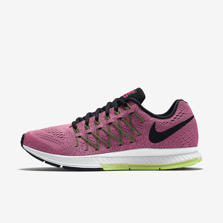 Womens Nike Air Zoom Pegasus 32 Sz 5-11 Pink Pow/Black 749344-600 FREE SHIPPING