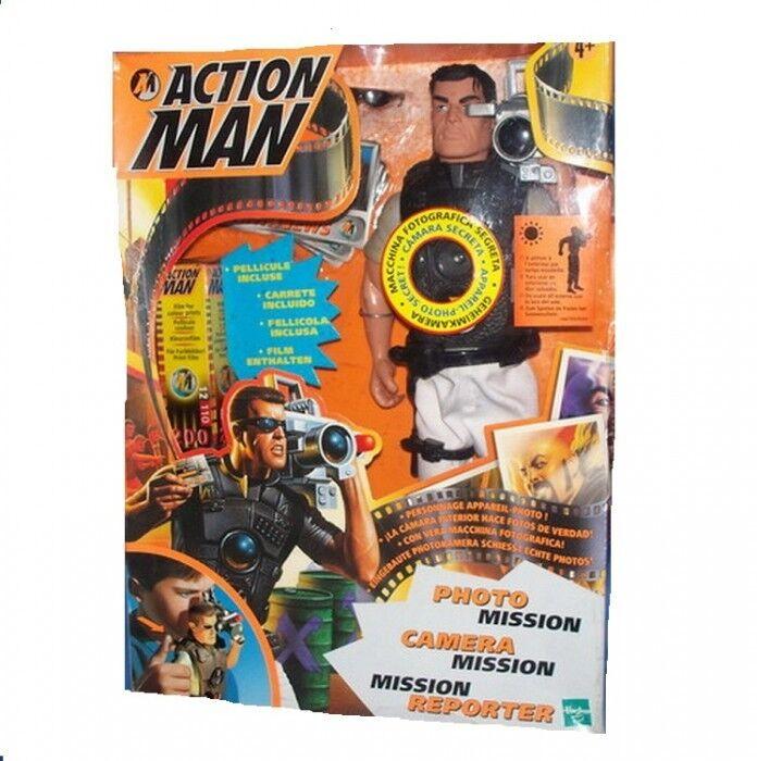 Acción Man Foto misión Hasbro 1998 Raro