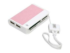 Vantec Culore Portable Hi-Speed USB 2.0 66-in-1 External Card Reader/Writer with