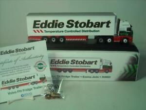 Atlas-Editions-EDDIE-STOBART-Volvo-FH-Fridge-Trailer-EMMA-JADE-H4663-1-76-DieCas