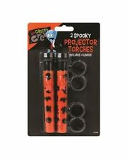 Halloween Projector Torch Lamp Set Trick Or Treat Spooky Scary Party Decorations