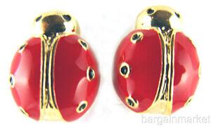 Red-Enamel-Stud-Ladybug-Earrings