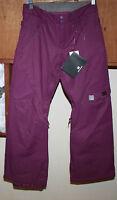 Dc Ace 14 Kids Snowboard Pants Large Purple Free Shipping