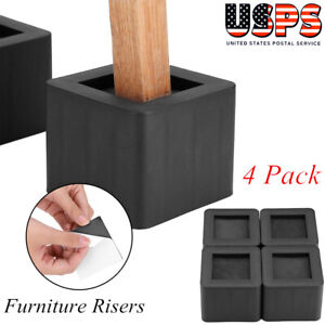 4Pcs-Set-3-034-Furniture-Risers-Adjustable-Bed-Table-Chair-Riser-Utopia-Bedding-US