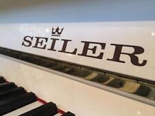 SEILER Klavier Weiß Poliert Garantie Frei Haus