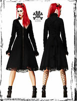SPIN DOCTOR VICTORIAN FLORENCE BLACK CORSET DRESS JACKET COAT steampunk goth M L