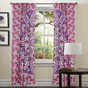 Bohemian-Indian-Decorative-Mandala-Curtains-Window-Treatment-Set-Tapestry-Drapes