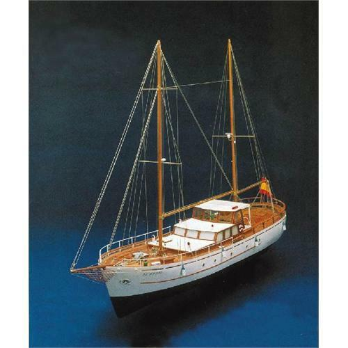 Mantua Bruma Ocean Going Yacht Kit 1 45 Scale FREE NEXT DAY Delivery