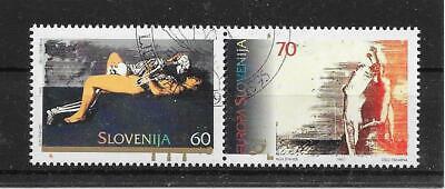Cept/europa Union & Mitläufer Vereinigt I618 Slowenien/ Cept 1995 Minr 110/11 O Ersttagstempel Europa