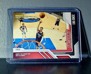 Luka Doncic 2020-21 Panini NBA Instant #71 Basketball Card 1 of 141
