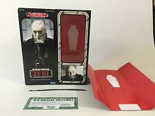 "custom star wars Rotj 12"" darth vader removable helmet box + inserts"