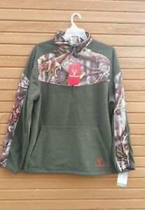 Nouveau Huntworth Sz Lg Oak Tree Evo Camo Camouflage Motif Sweat Veste-afficher Le Titre D'origine