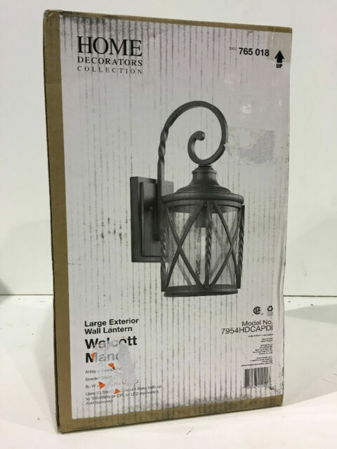 Light Antique Pewter Outdoor Wall