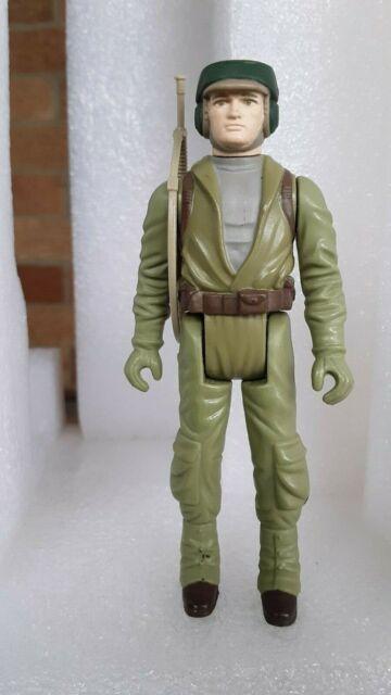 Vintage 1983 HK Star Wars ROTJ Rebel Commando w/ Original weapon ****SHARP****