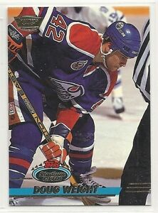 1993-94-Stadium-Club-Members-Only-Logo-382-Doug-Weight-Oilers