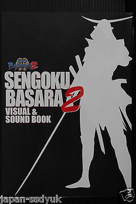 JAPAN Sengoku Basara 2 Visual /& Sound Book 3 w//CD