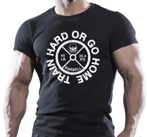 TRAIN HARD TRAINING MENS BODYBUILDING GYM GOKU T-Shirt MMA WORKOUT CLOTHING TOP