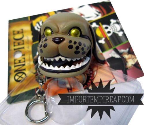 ONE PIECE Monkey D Garp PORTACHIAVI cane dog hat cappello cosplay keychain rufy