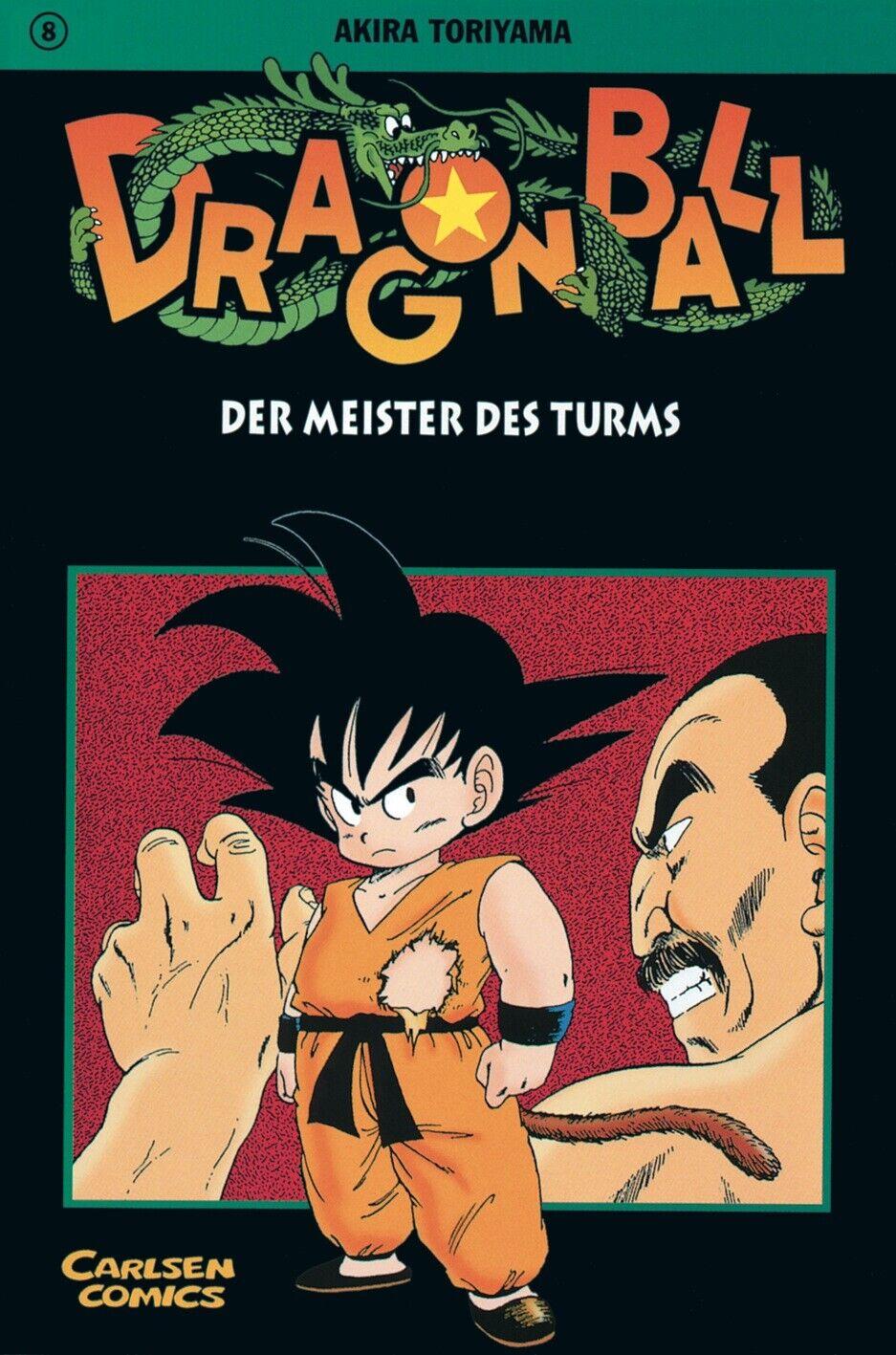 Dragon Ball 8 Akira Toriyama Dragon Ball Carlsen Manga - Akira Toriyama
