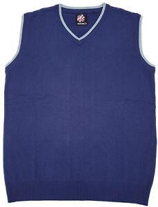 Warrior-UK-England-Blue-Tank-Top-Sleeveless-Sweater-Pullover-Skinhead-Mod-Oi