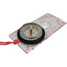 UST DELUXE MAP COMPASS WITH ROTATING BEZEL BUSHCRAFT SURVIVAL NAVIGATION SCOUTS