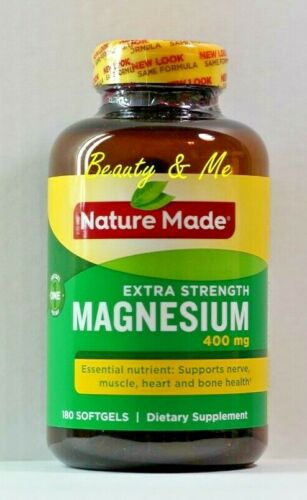 Nature-Made-Extra-Strength-MAGNESIUM-400-mg-180-Softgels