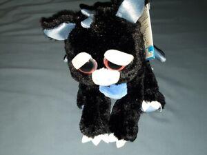 Feisty Pets Francisco Flamefart Plush Black Blue Dragon New With Tags Horror Ebay