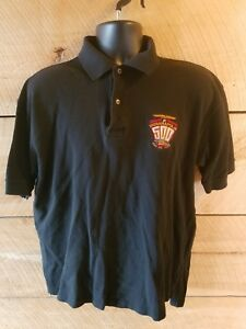 90s-VTG-INDIANAPOLIS-MOTOR-SPEEDWAY-Indy-500-Polo-Shirt-M-black-1997-Rare-81st