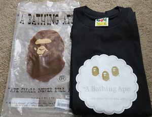 54229fd0 A Bathing Ape Logo Head Ape Shall Never Kill Ape T-Shirt Nigo ...