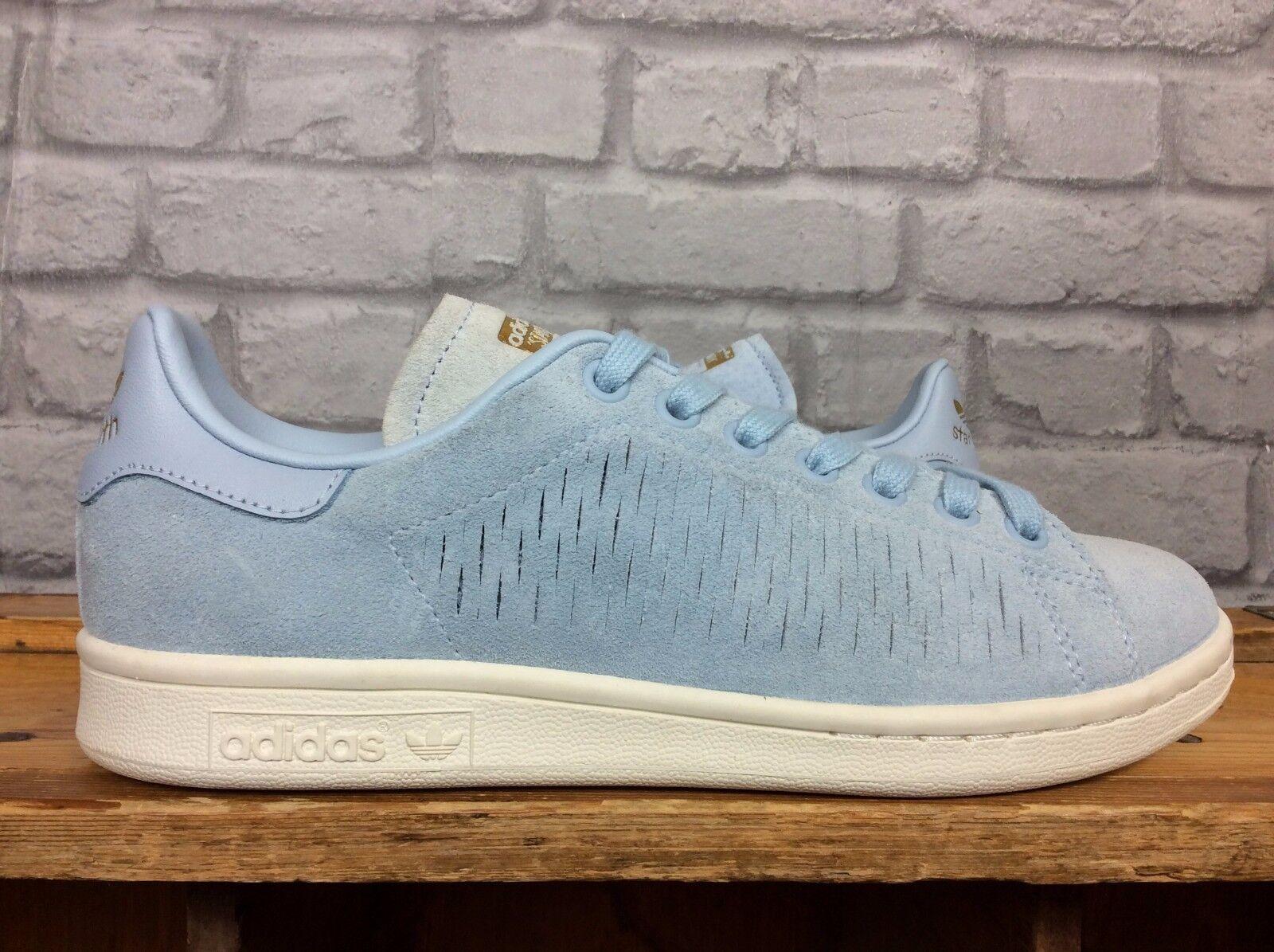 Adidas Femmes UK bleu 5 EU 38 daim bleu UK Stan Smith Baskets be7a6f
