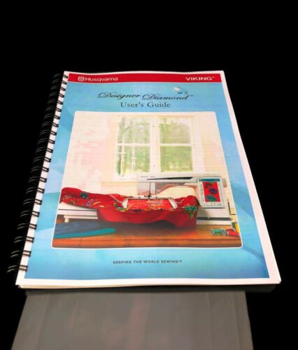 Husqvarna Viking Designer Diamond Sewing Machine User Guide Manual COLOR Reprint
